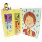 children board book with story and picture book as children intelligent gift