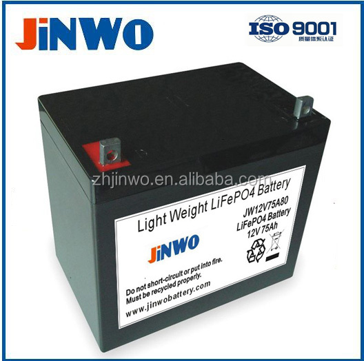 Lithium Marine Batteries Marine Lithium Ion Battery 12V 60Ah 12V 75Ah LiFePO4 Battery For Marine / Marine Electronic