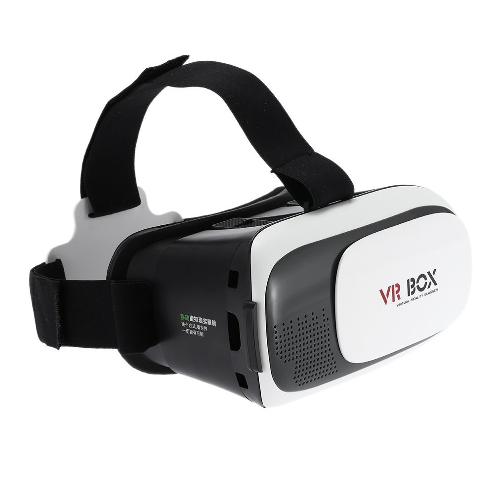 Swell [Virtual Reality] VR Box 2.0 Google Cardboard 3D VR Virtual Reality Headset Video Movie Game Glasses For iPhone, Samsung, and More Bluetooth Remote Controller