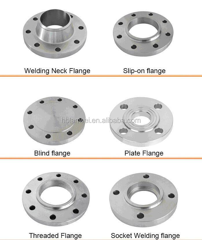 Din standard pn flange slip on carbon steel pipe
