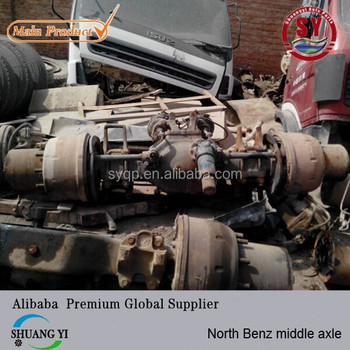 Second-hand China North Benz Truck Middle/back Axle Boggie