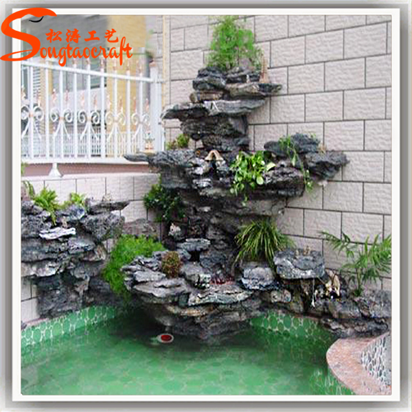 Stylized All Kinds Of Garden Wall Fountain For Sale Indoor Artificial  Waterfall Fountain
