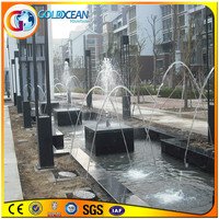 Professional factory jumping laminar water jet fountain built in lakes