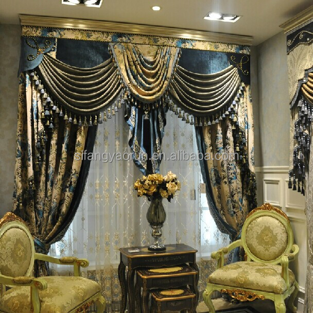 New luxury curtains royal curtain design buy royal curtain design latest curtain designs - Latest interior curtain design ...
