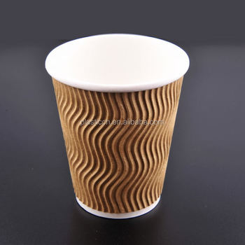 10oz Disposable Paper Coffee Cups Cup To Go