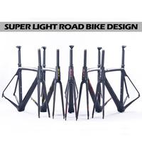 5 color carbon road bike frame Brand BXT super light 700c full chinese carbon frame t800 carbon fiber bicycle frame