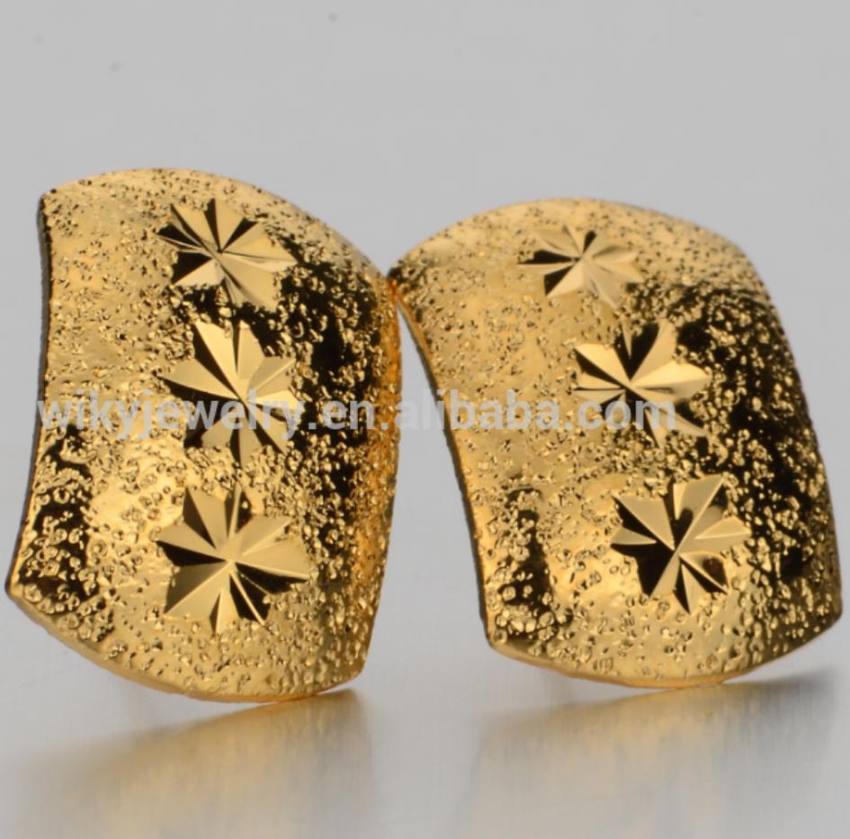 Hot Selling Dubai Gold Jhumka Stud Earrings For Women - Buy Dubai ...