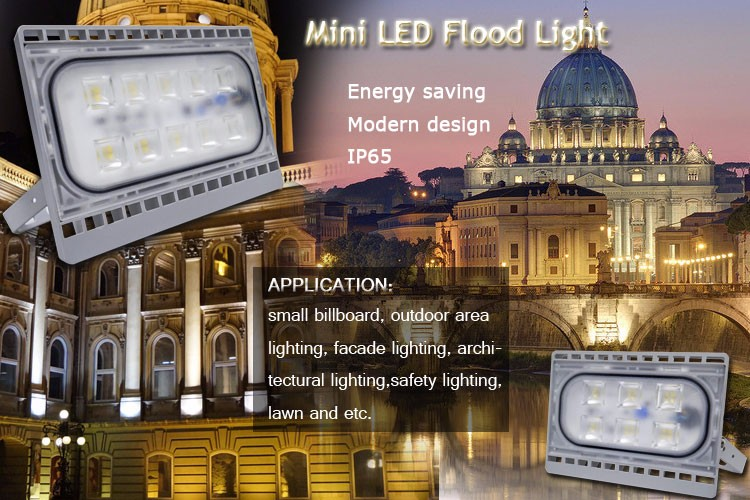 Driverless Ultra LED flood light IP65 Smd 50 Watt