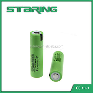 Wholesale 18650 rechargeable battery 18650 CG 2000MAH battery CGR 18650 CG 3.7v li-ion battery
