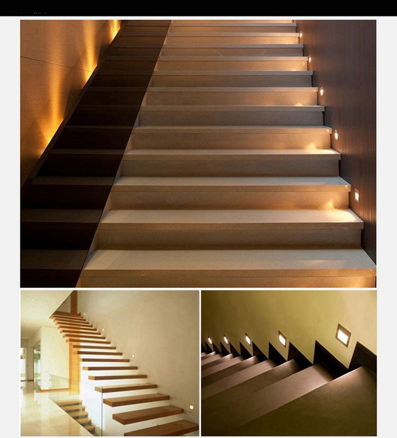 Lighting Basement Washroom Stairs: 2019 Popular PIR Motion Sensor Led Stair Light Infrared