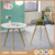langfang aide furniture factory wood simple design mdf round dining table