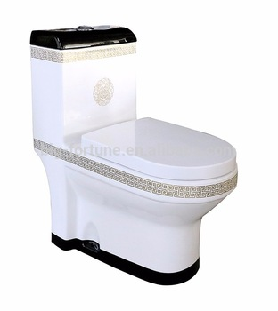 Washdown Floor Mounted Wc Toilet , Chemical Toilet For Home Sale