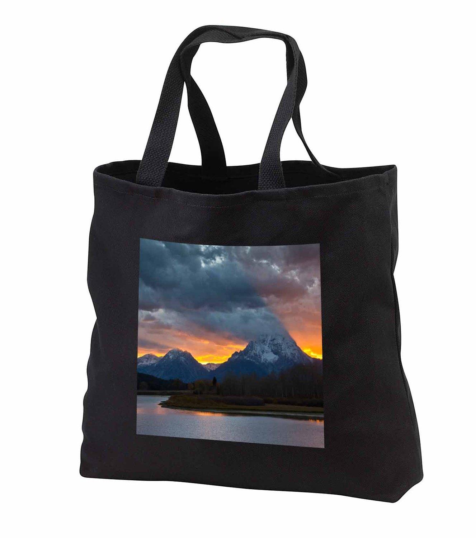 tb_231982 Danita Delimont - Grand Tetons - Sunset, Oxbow, Mount Moran, Grand Teton National Park, Wyoming, USA - Tote Bags