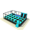 Kids Play Amusement Park Bungee Trampoline Exercise Park small Jumping Games