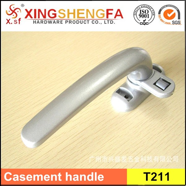 Safety 1st Lever Handle Lock Heavy Duty Aluminum Casement Handle