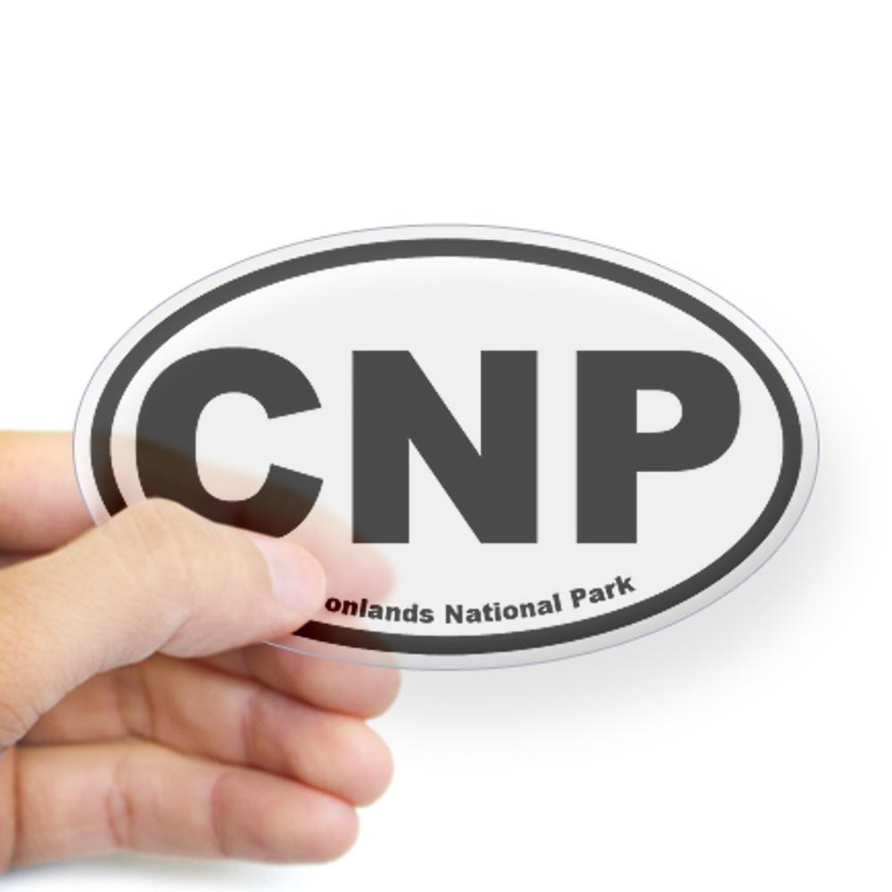 CafePress - Canyonlands National Park Oval Sticker - Oval Bumper Sticker, Euro Oval Car Decal