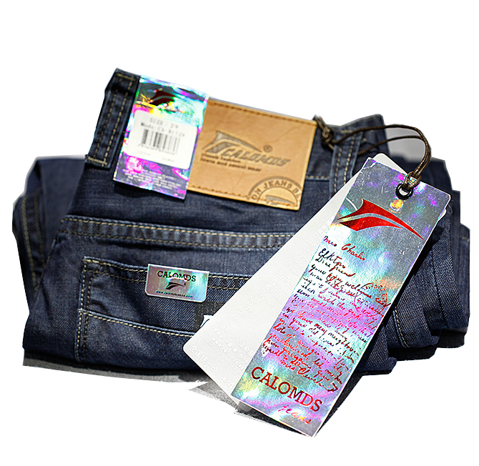 Custom fashion ladies textile leather metal hardware shoe bag label jeans garment accessories supplier