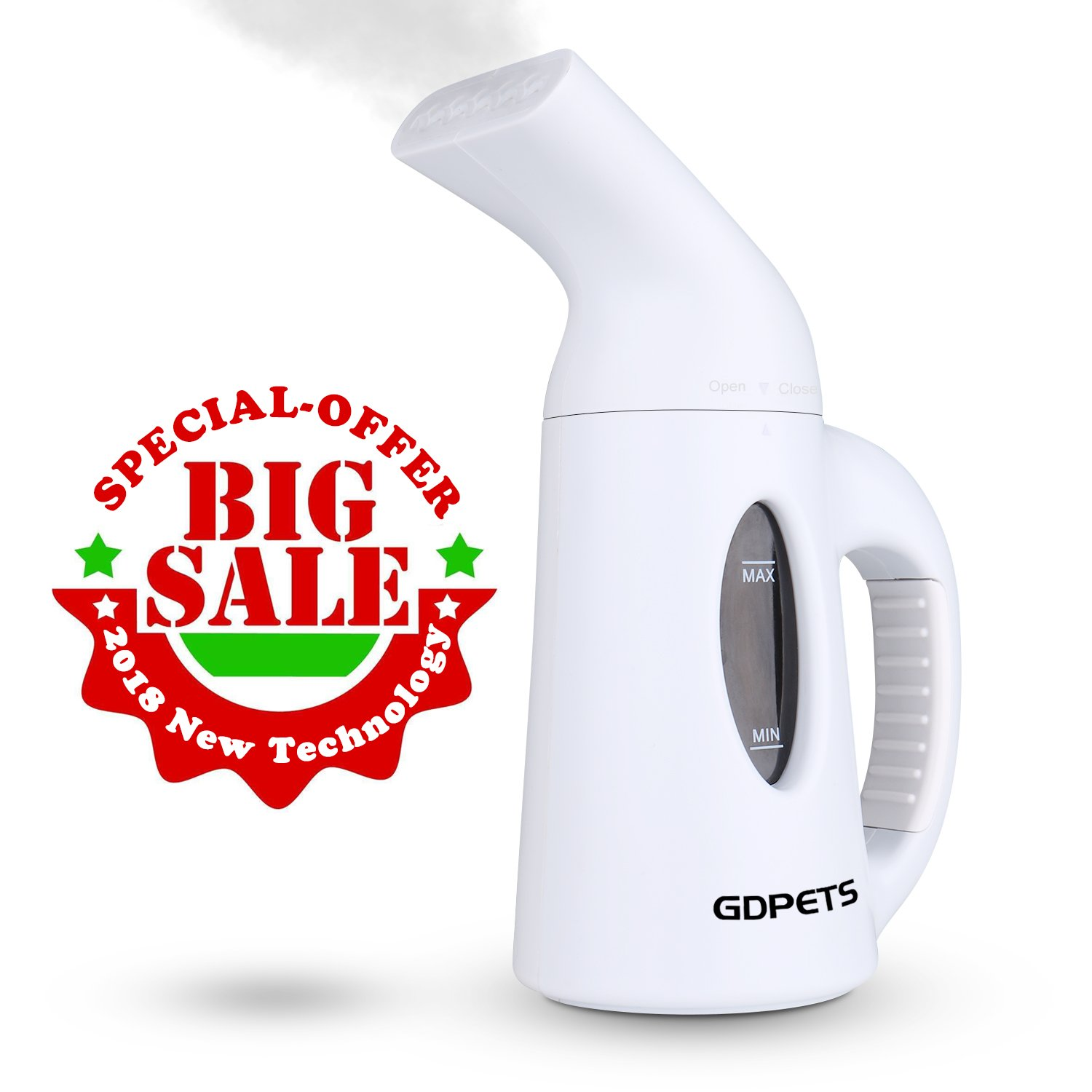 GDPETS Steamer For Clothes, Clothes Steamer, Mini 120ML Portable Handheld Garment Steamer,Fast Heat-Up Little Clothes Steamer&Steamers for Clothes and Other Fabric- Travel Steamer for Home &Travel