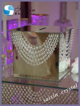 Kartenbox Hochzeit Glas.Schone Hochzeit Dekoration Glas Spiegel Karte Box Mit Hangenden Kristall Zt 198b Buy Hochzeitseinladungskarte Box Hochzeitskarte