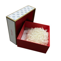Chinese new year coming hot sale paper gift box for package