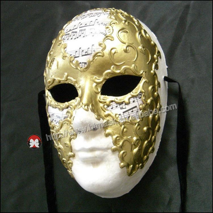 Original La Maschera Del Galeone Carnival Mask Hand Made