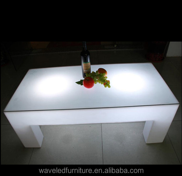 Led Lighting Equipment Glowing Event dinner table/bar Tables for Coffee/Restaurant