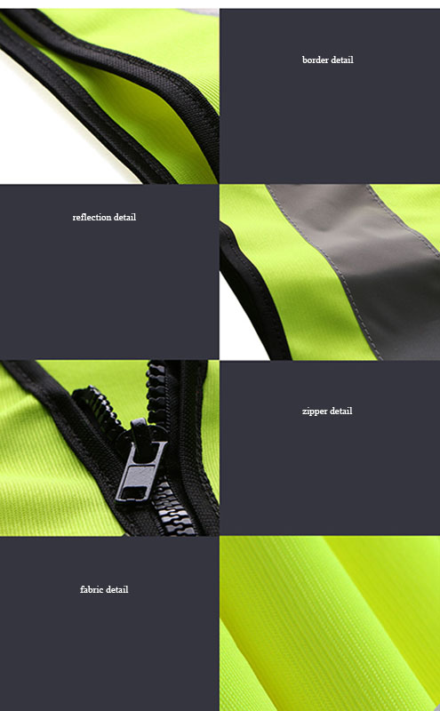 High Visibility kids bicycle reflective safety vest