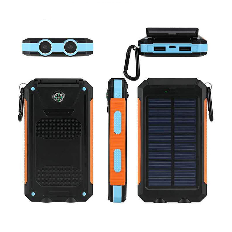 8000mAh Compatible digital device power bank cell phone solar charger