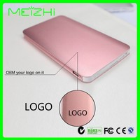 Best rechargeable power bank 5000mah pocket card backup battery
