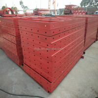 Recyclable steel formwork boards for concrete for sale