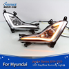 car accessories Hyundai part led daytime running light For hyundai Elantra 2015 DRL fog lamp car accessories