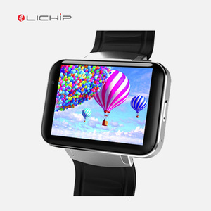 LICHIP 2.2inch 900mah wifi 3g gps DM98 smart watch phone 4g android 5.1
