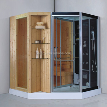2 Person Use Tempered Glass Sauna Room Steam Shower Cabins For Two ...