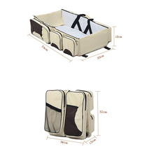 China good quality Diaper Baby Bed Bag For Mother