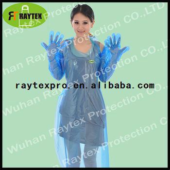 One-off Kitchen Pinafore Plastic Apron In Roll