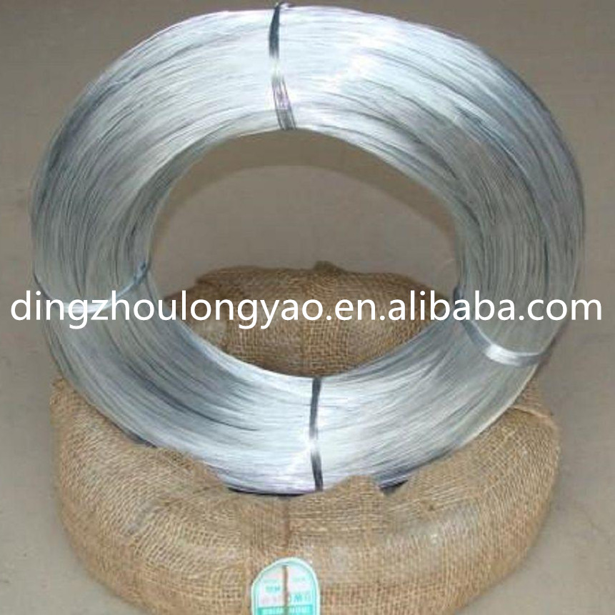 High quality factory price galvanized iron wire / galvanized binding wire for construction.