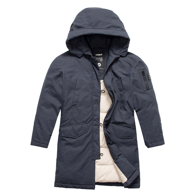 Garment Manufacturer Warm winter long mens Parka coat Hooded Jacket