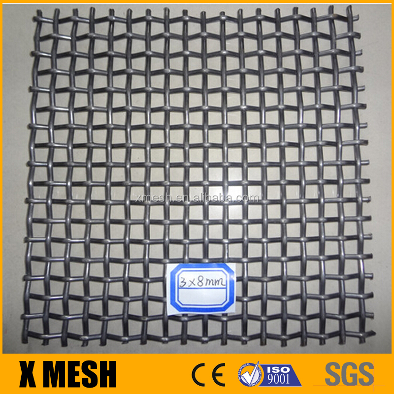 High tensile woven wire screen/Vibrating Screen Mesh/Mine Sieving Mesh