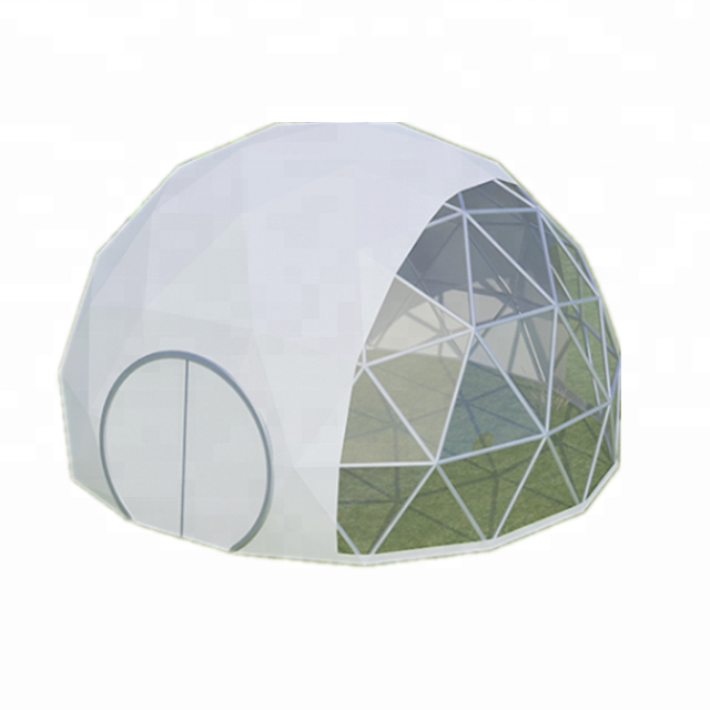 diameter 5m PVC fabric igloo dome <strong>tent</strong> for beach shelter