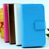 Wallet leather flip cover case for samsung galaxy note 3 neo n750 n7505