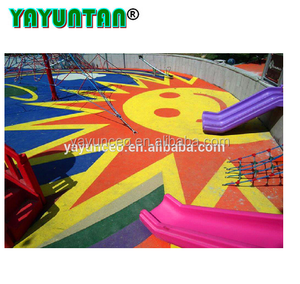 Anti Slip Colorful EPDM Outdoor Pour-in-place Playground Rubber Mats