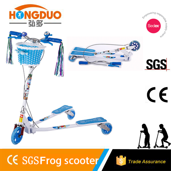 New design wave scooter,frog scooter for adult for kids