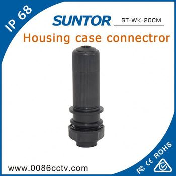 Outdoor Electric Male And Female Cable Wire Connectors Types