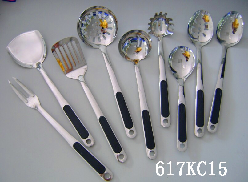 whosale cheap stainless steel kitchenware ss201 kitchen utensils and gadge