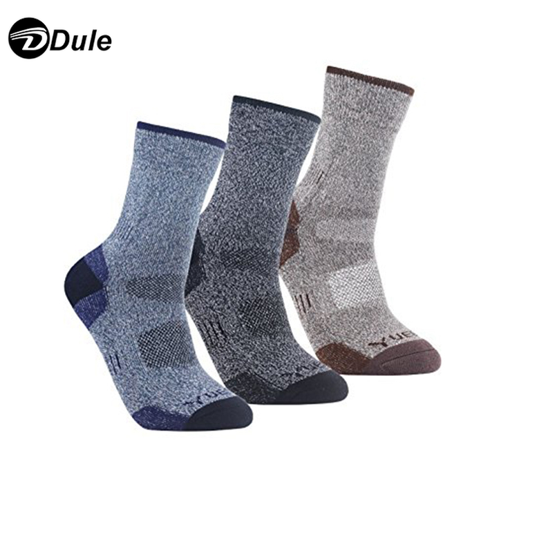 DL-I-1570 wicking socks moisture absorbing socks custom coolmax socks