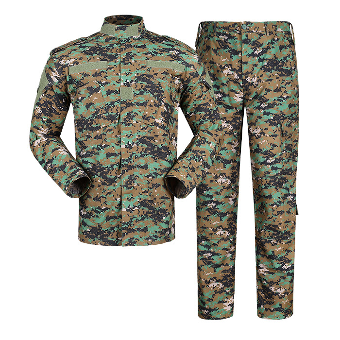Armee military jungle/woodland digitalen camouflage kleidung