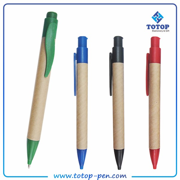 Full experience personalized Recycled Kraft Paper eco smart pen