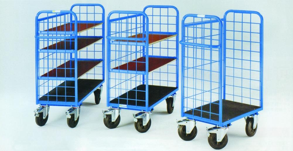 4 Räder Drahtgeflecht Lagerung Warenkorb - Buy Product on Alibaba.com