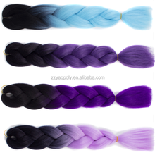 Synthetic hair hair extensions 24'' expression hair braids for sale