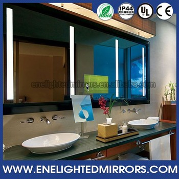 2016 Hot Selling Hotel Waterproof Bathroom TV Flat Screen Hd Tv Hidden Behind Mirror